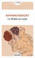 Couverture Le diable au corps Editions Pocket (Classiques) 2019