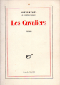 Couverture Les Cavaliers Editions Gallimard  (Page blanche) 1967