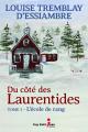 Couverture Du côté des Laurentides, tome 1 : L'école du rang Editions Guy Saint-Jean 2019