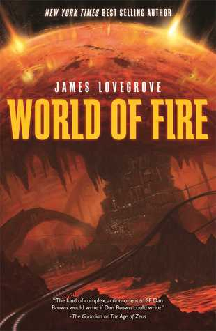 Couverture Dev Harmer Mission, book 1: World of Fire