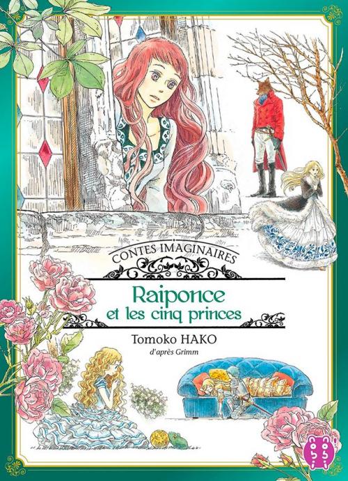 Couverture Contes Imaginaires, tome 2 : Raiponce et les cinq princes