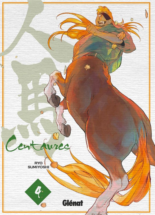 Couverture Centaures, tome 4