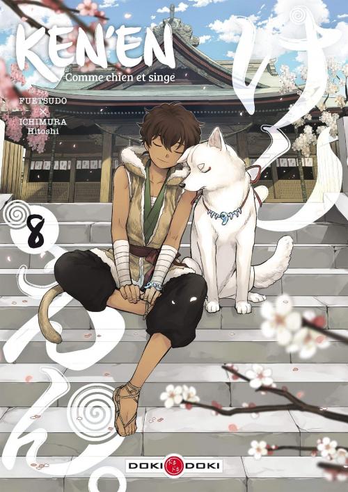 Couverture Ken'en : Comme chien et singe, tome 8