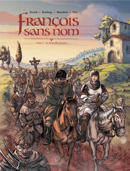Couverture François sans nom, tome 2 : La Nouvelle Jeanne