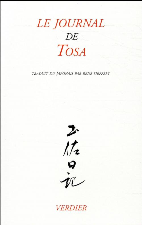 Couverture Le journal de Tosa