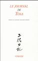 Couverture Le journal de Tosa Editions Verdier 2018