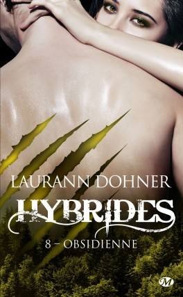 Couverture Hybrides, tome 8 : Obsidienne
