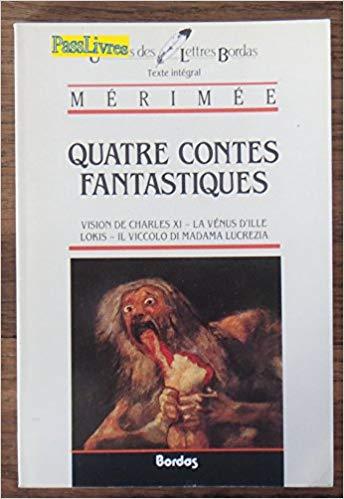 Couverture quatre contes fantastiques