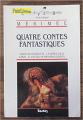 Couverture quatre contes fantastiques Editions Bordas (Univers des lettres) 1989