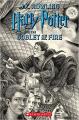 Couverture Harry Potter, tome 4 : Harry Potter et la coupe de feu Editions Arthur A. Levine Books 2018