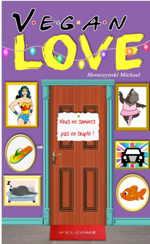 Couverture Vegan love