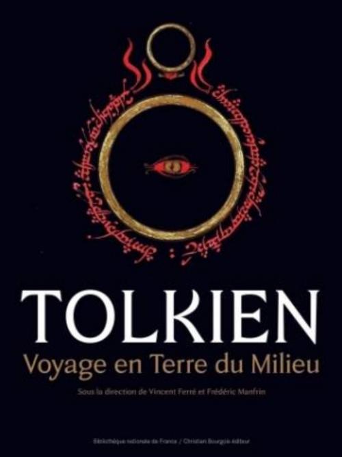 Couverture Tolkien voyage en terre du milieu