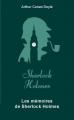 Couverture Intégrale Sherlock Holmes, tome 3 : Les mémoires de Sherlock Holmes Editions Archipoche 2019