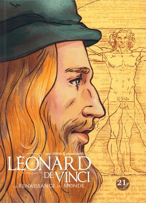 Couverture Léonard de Vinci : La renaissance du monde