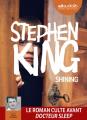 Couverture Shining : L'Enfant lumière / Shining Editions Audiolib 2019