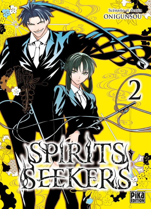 Couverture Spirits Seekers, tome 2