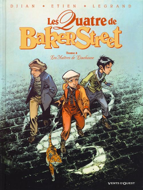Couverture Les Quatre de Baker Street, tome 8 : Les Maîtres de Limehouse