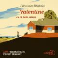 Couverture Valentine ou la belle saison Editions Lizzie 2018