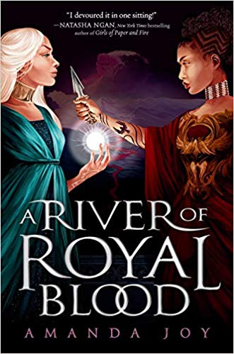 Couverture A River of Royal blood, book 1