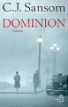 Couverture Dominion Editions Belfond 2014