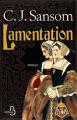 Couverture Lamentation Editions Belfond 2016