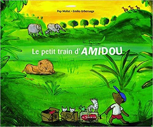 Couverture Le petit train d'Amidou