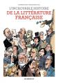 Couverture L'incroyable histoire de la littérature française Editions Les arènes 2019