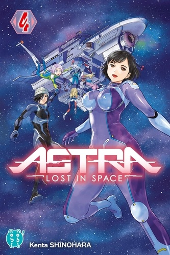 Couverture Astra, lost in space, tome 4