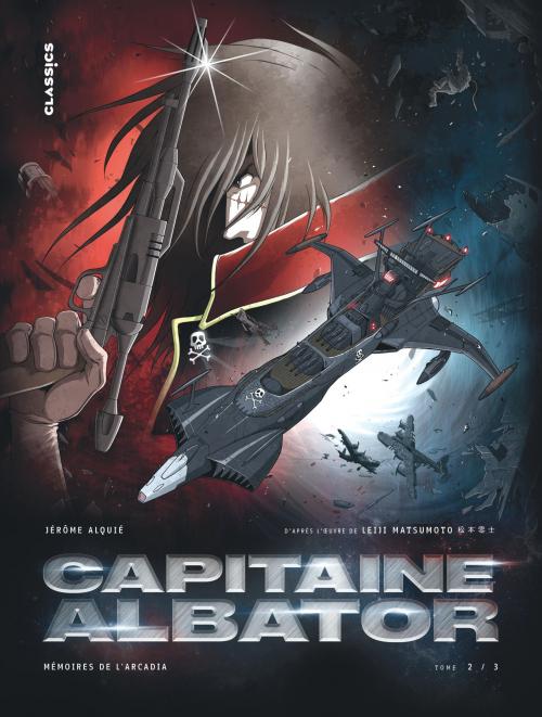 Couverture Capitaine Albator : Mémoires de l'Arcadia, tome 2 : Les ténèbres abyssales de l'âme