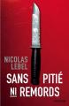 Couverture Sans pitié ni remords Editions Marabout 2015