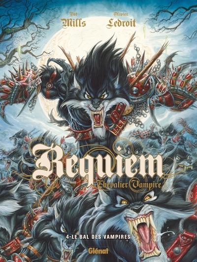 Couverture Requiem Chevalier Vampire, tome 04 : Le Bal des Vampire