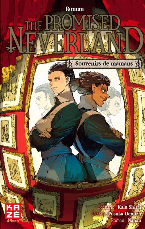 Couverture The Promised Neverland (roman) : Souvenirs de mamans