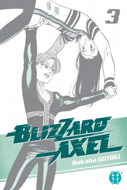 Couverture Blizzard Axel, tome 3
