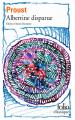 Couverture Albertine disparue Editions Folio  2019