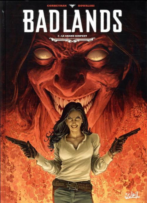 Couverture Badlands, tome 3 : Le Grand Serpent