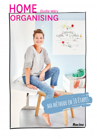 Couverture Home organising - ma méthode en 10 etapes