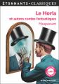 Couverture Le Horla et autres contes fantastiques Editions Flammarion (GF - Etonnants classiques) 2017