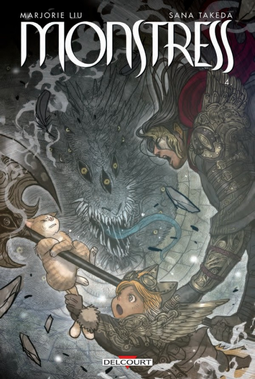Couverture Monstress, tome 4 : L'élue