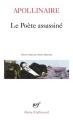Couverture Le poète assassiné Editions Gallimard  (Poésie) 2016