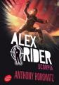 Couverture Alex Rider, tome 05 : Scorpia Editions Le Livre de Poche (Jeunesse) 2017