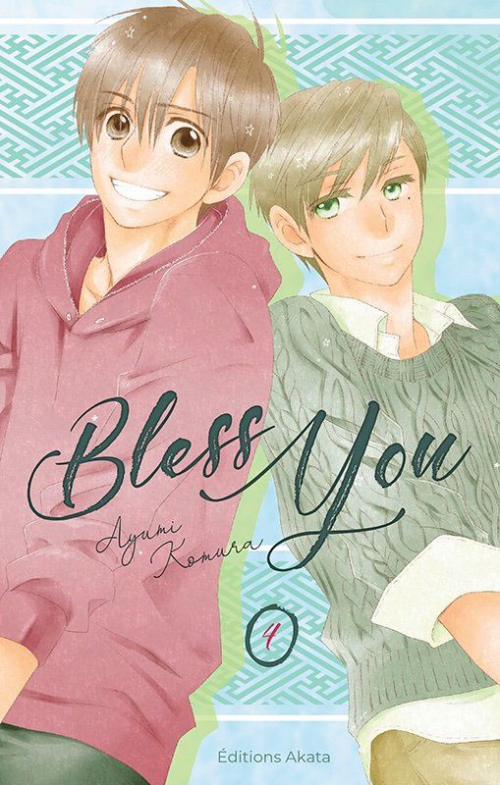 Couverture Bless you, tome 4
