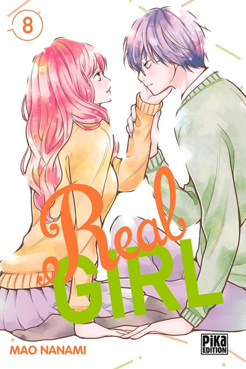 Couverture Real Girl, tome 8