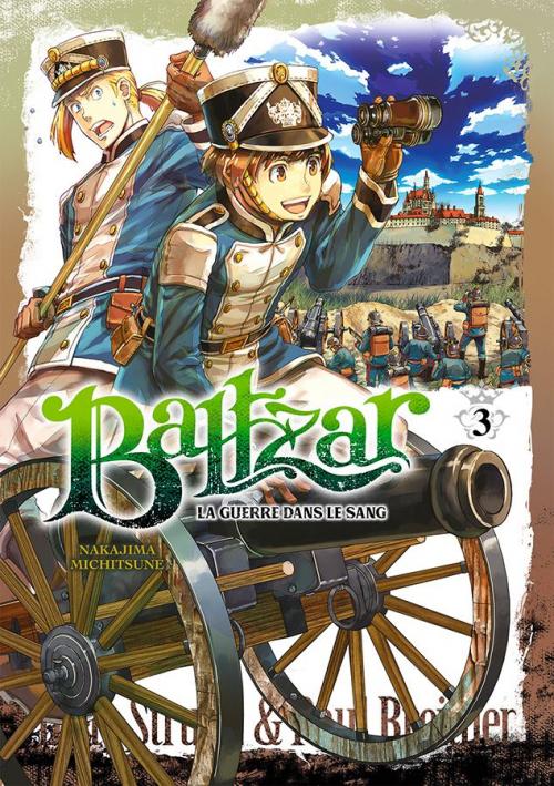 Couverture Baltzar : La guerre dans le sang, tome 3