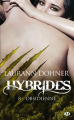 Couverture Hybrides, tome 8 : Obsidienne Editions Milady (Bit-lit) 2019