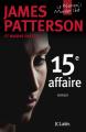 Couverture Le women murder club, tome 15 : 15e affaire Editions JC Lattès 2017