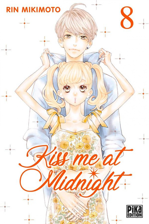 Couverture Kiss me at midnight, tome 08