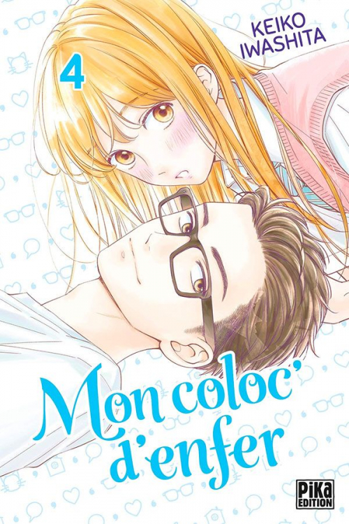 Couverture Mon coloc' d'enfer, tome 4