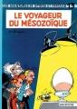 Couverture Spirou et Fantasio, tome 13 : Le Voyageur du mésozoïque Editions Dupuis 1960