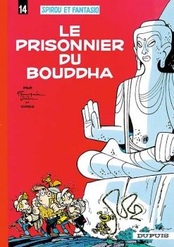 Couverture Spirou et Fantasio, tome 14 : Le Prisonnier du Bouddha