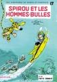 Couverture Spirou et Fantasio, tome 17 : Spirou et les hommes-bulles Editions Dupuis 1965